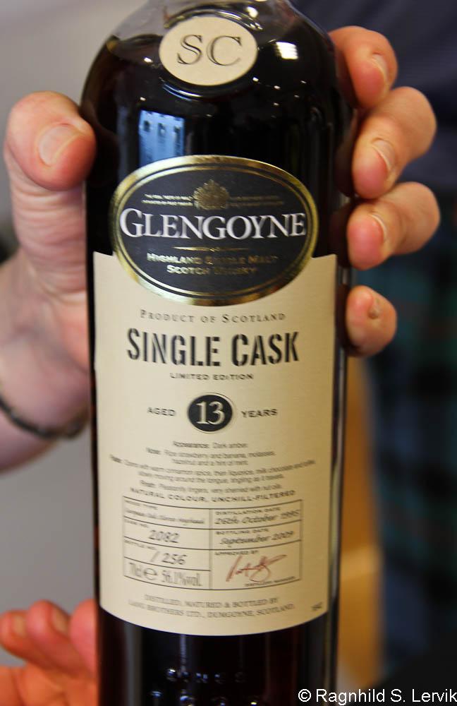 Glengoyne 13 år single cask – med jordbærsmak