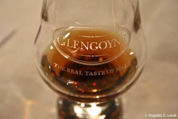 Glengoyneglass med Glengoyne, fra en tidligere smaking