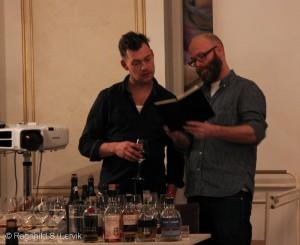 Christian og Martin diskuterer lineup