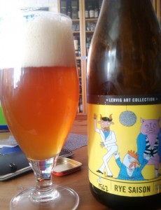 Lervig Art Collection Funky Moi Rye Saison