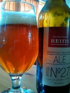 Reins Ale Brygg No 27