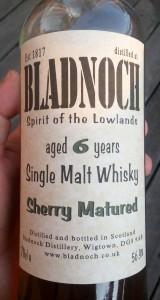 bladnoch6sherry