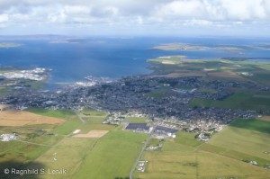 Kirkwall from above
