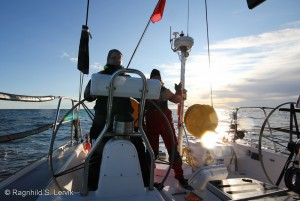 A steady course is to be desired, both in sailing and in blogging.