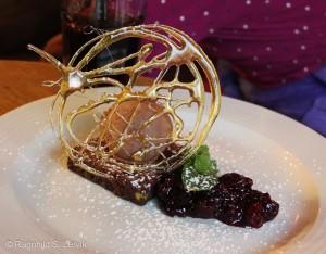 Dessert med sukker-bling