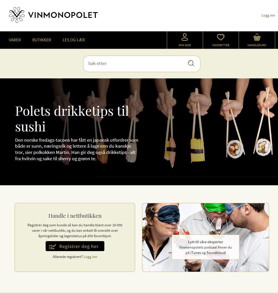 nedsatte varer på vinmonopolet februar 2017