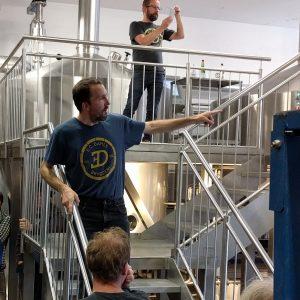 Wolfgang forteller om bryggeriet
